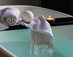 better goodnight sleep tips - take a relaxing bath