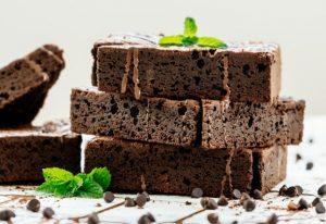 4 ingredient flour-less protein brownies recipe