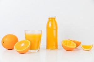 April fools food pranks. Orange Juice