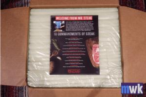Mr Steak Review, Packaging