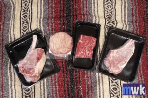 Mr Steak Review, Meats