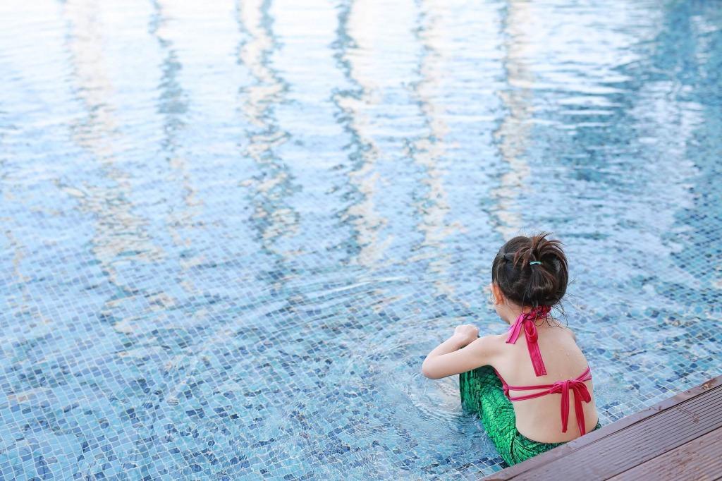 water activities backyard