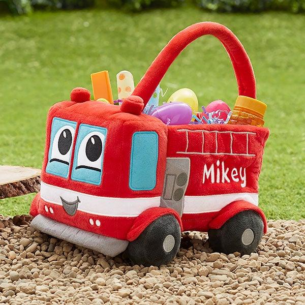 Easter Basket - Fire Truck